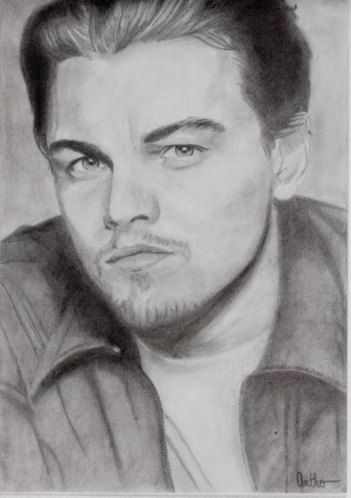 Leonardo DiCaprio por Antho